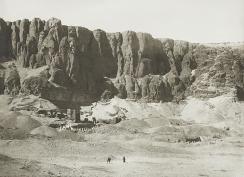 Temple at Dêr el Bahree Junghaendel, R. M.  (German, 1888–1898)