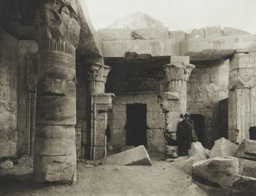 Temple at Dêr el-Medineh Junghaendel, R. M.  (German, 1888–1898)