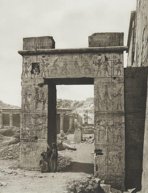 Temple of Isis at Philae Junghaendel, R. M.  (German, 1888–1898)