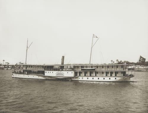 One of the Steamers of Thos. Cook & Son (Egypt) Ltd Junghaendel, R. M.  (German, 1888–1898)