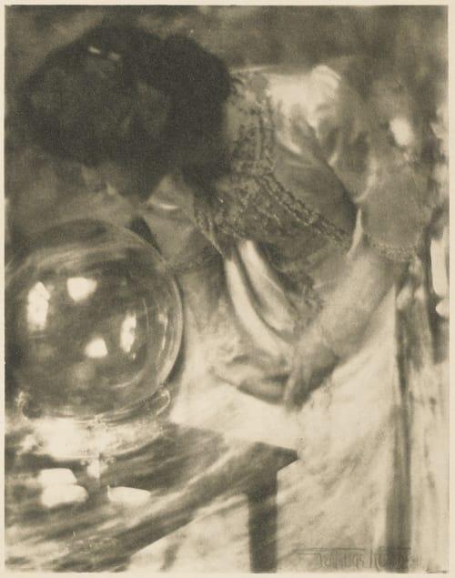 The Crystal Gazer Kasebier, Gertrude  (American, 1852-1934)