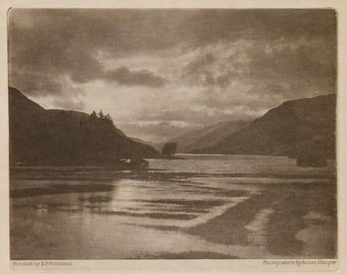 Loch Voil Robinson, Henry Peach  (British, 1830-1901)