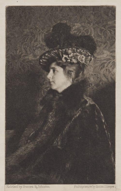 A Portrait Johnston, Frances Benjamin  (American, 1864-1952)