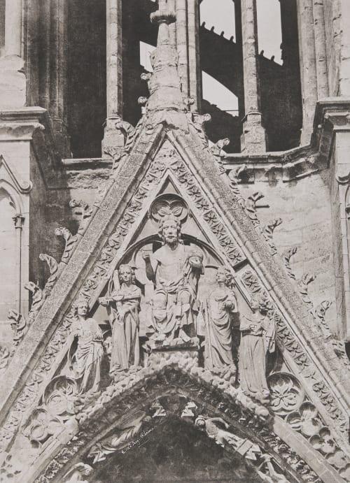 Cathédrale de Reims Le Secq, Henri  (French, 1818-1882)
