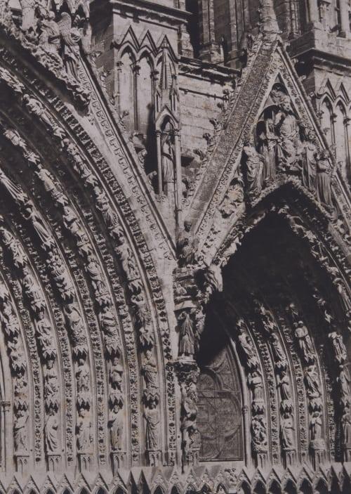 Cathedrale de Rheims, Portails Le Secq, Henri  (French, 1818-1882)