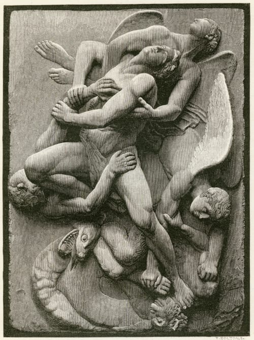 Deliver Us From Evil Flaxman R.A., John  (British, 1755-1826)