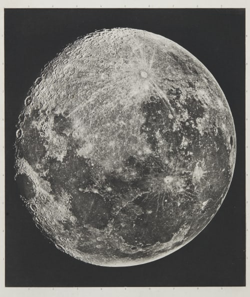 Atlas photographique de la Lune (cover detail) Loewy, Maurice  (1833-1907)Piuseux, Pierre Henri  (1855-1928)