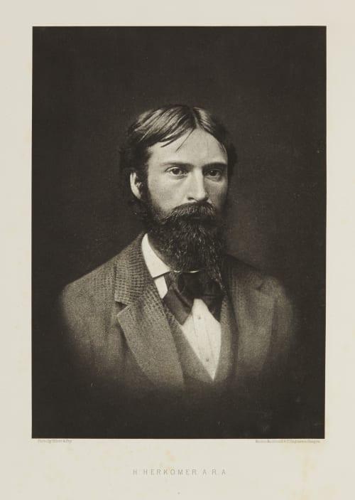 H Herkomer A. R. A. Elliott, Joseph John  (British, 1835-1903,)Fry, Clarence Edmund  (British, 1840-1897)