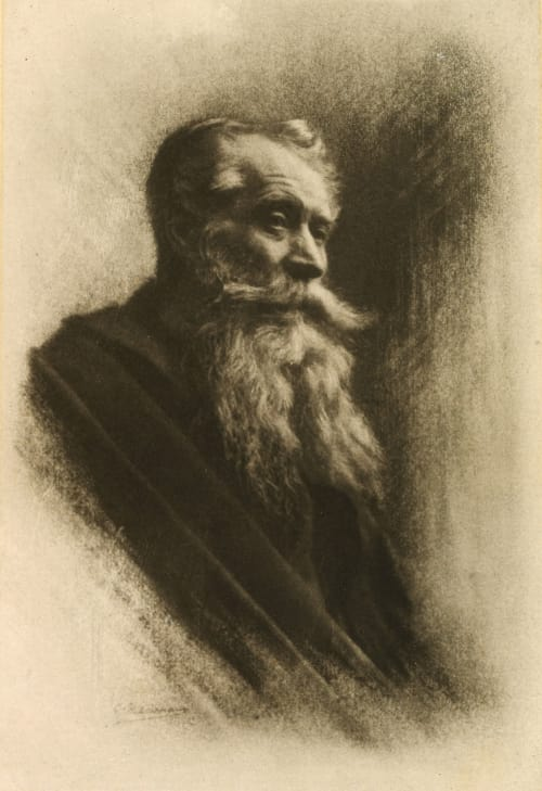 Figure de Vieillard Marissiaux, Gustave  (Belgian, 1872-1929)