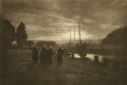 Crepuscule Marissiaux, Gustave  (Belgian, 1872-1929)