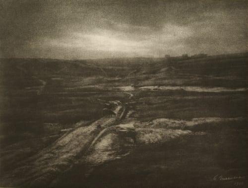 La Bretagne Triste Marissiaux, Gustave  (Belgian, 1872-1929)