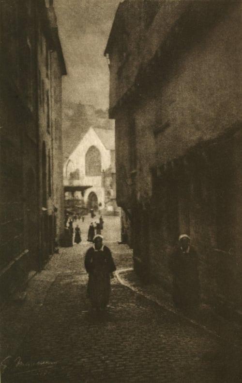 Un Rue Marissiaux, Gustave  (Belgian, 1872-1929)