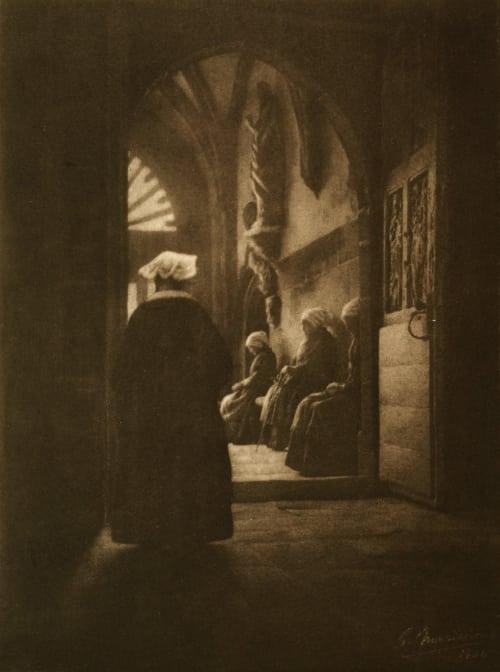 Les Pauvresses Marissiaux, Gustave  (Belgian, 1872-1929)