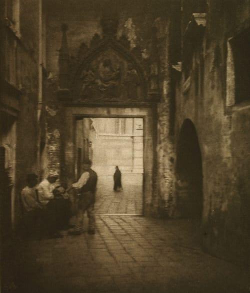 Dans les Calli Marissiaux, Gustave  (Belgian, 1872-1929)