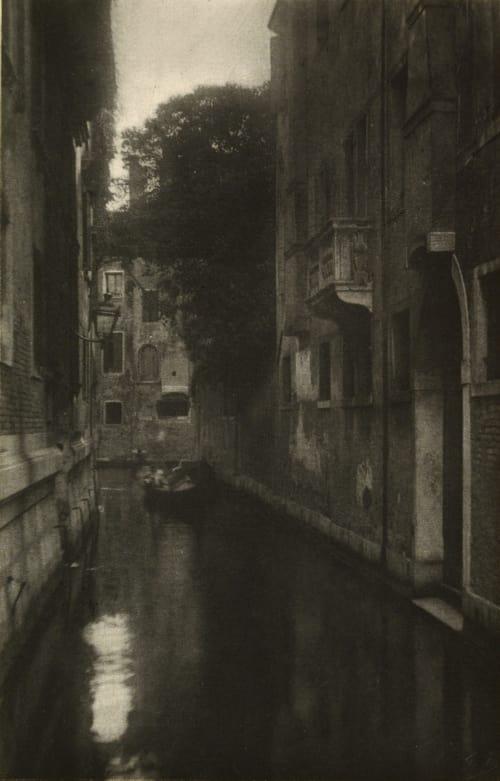 Un Canal Marissiaux, Gustave  (Belgian, 1872-1929)