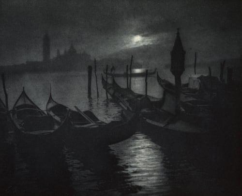 Nuit Venitienne Marissiaux, Gustave  (Belgian, 1872-1929)