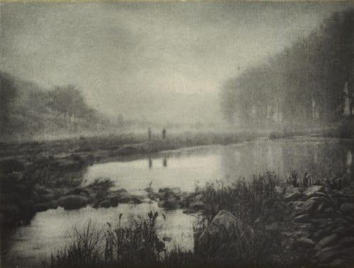 Brume apres la Pluie Marissiaux, Gustave  (Belgian, 1872-1929)