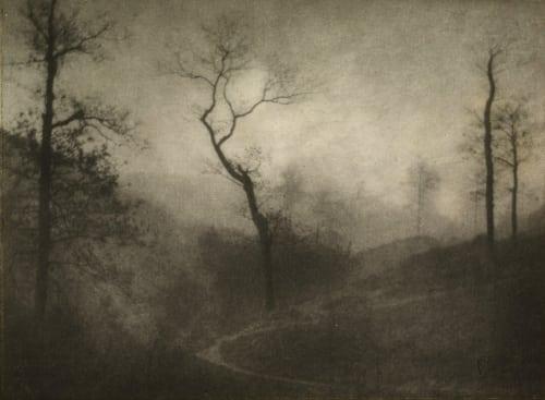 Crepuscule d'Hiver Marissiaux, Gustave  (Belgian, 1872-1929)