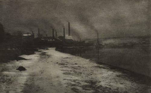 Soir de Neige Marissiaux, Gustave  (Belgian, 1872-1929)