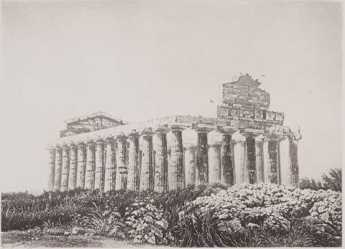 Temple de Céres a Pestum Dusacq et Cie  (French)