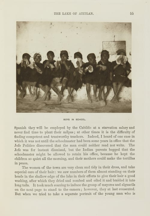 Boys in School Maudslay, Alfred Percival  (British, 1850-1931)