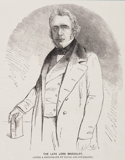 The Late Lord Macaulay Maull & Polyblank  (British, 1854-1865 (active))