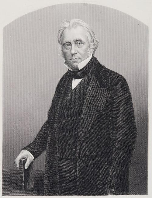 Lord Macaulay OB. 1859 Maull & Polyblank  (British, 1854-1865 (active))