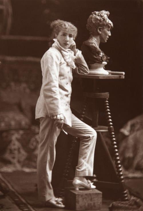 Sarah Bernhardt Melandri, Achille  (French, 1845-1905)