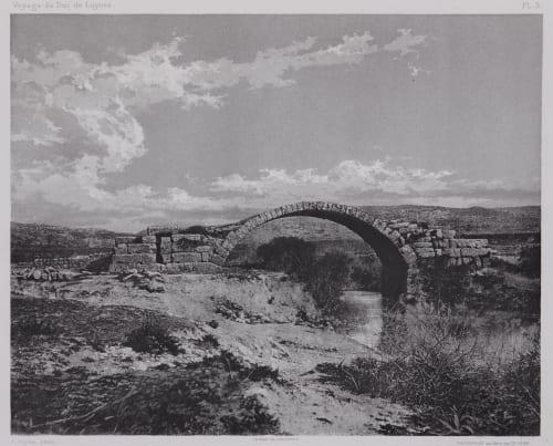 PL. 5 Abou-El-Aswaad: Pont Romain Vignes, Louis  (French, 1831-1896)