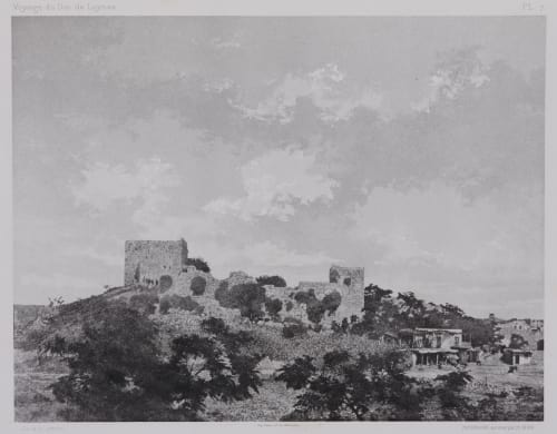 PL. 7 Sidon: Chateau de St Louis Vignes, Louis  (French, 1831-1896)