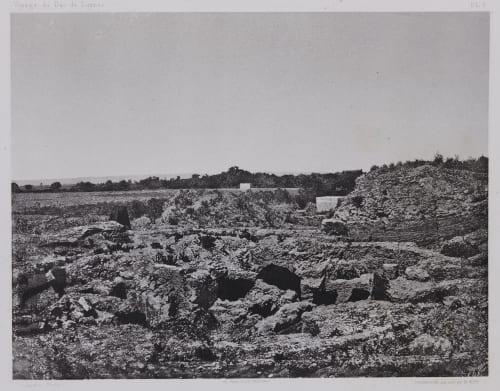 PL. 9 Sidon: Nécropole Vignes, Louis  (French, 1831-1896)