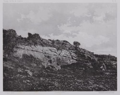 PL. 12 Crotte D'Astarté Vignes, Louis  (French, 1831-1896)