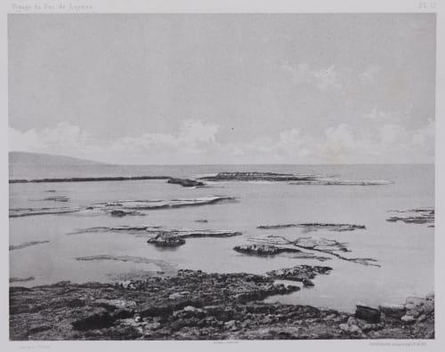 PL. 17 Tyr: Brise-Lames du Port Égyptien Vignes, Louis  (French, 1831-1896)