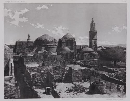 PL. 24 Jérusalem: Le Saint Sépulcre Vignes, Louis  (French, 1831-1896)