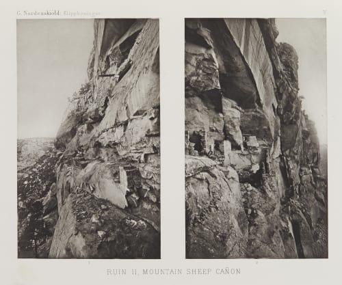 Mountain Sheep Canyon Nordenskiöld, Gustav  (Swedish, 1868-1895)