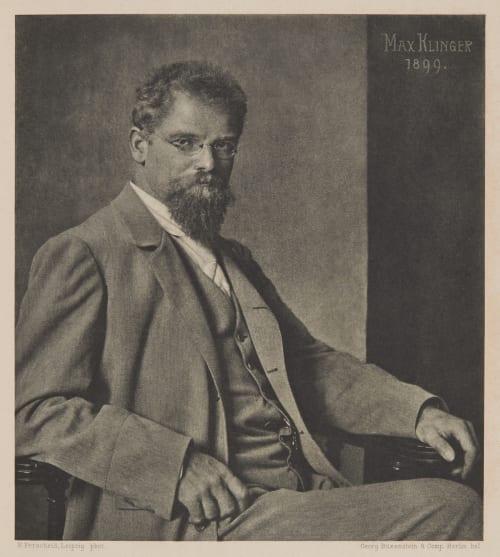 Max Klinger 1899 Nicola Perscheid  (German, 1864-1930)
