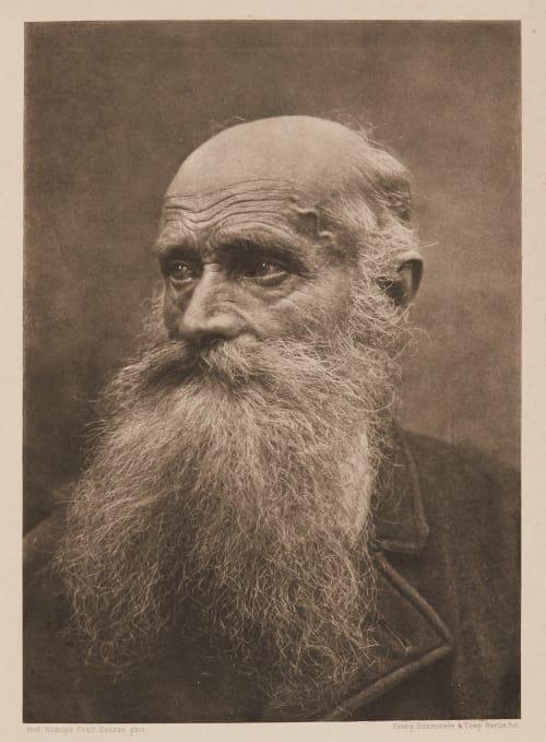 Portraitstudie Prof. Dr. Rudolph Crell