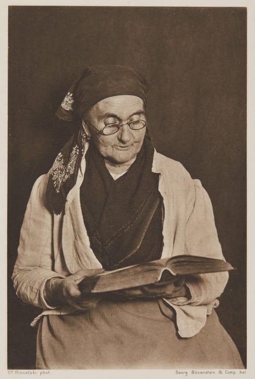 Grossmuter Liest Vor Dr. Konrad Biesalski  (German, 1868-1930)