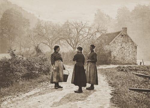Auf der Landstrasse Misonne, Leonard  (Belgian, 1870-1943)