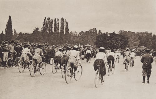 Radfahrerinnen Mazibourg, Carle de