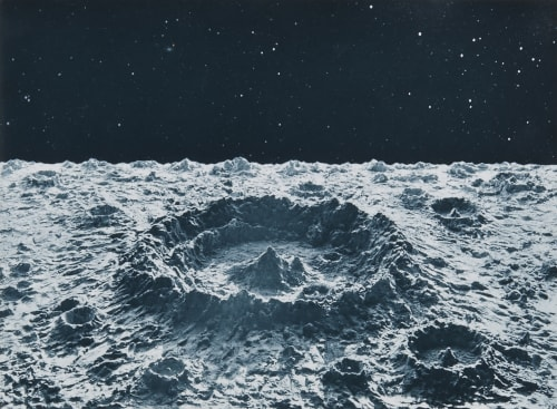 Normal Lunar Crater Nasmyth, James  (Scottish, 1808-1890)