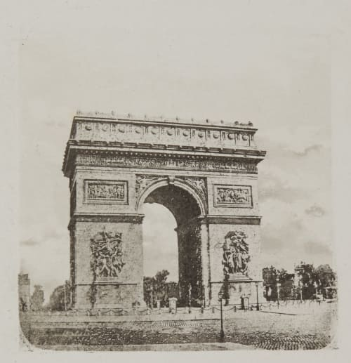 Arc de Triomphe Negre, Charles  (French, 1820-1880)