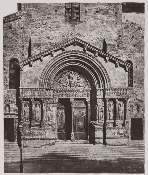 Portail de Saint-Trophime d'Arles Negre, Charles  (French, 1820-1880)
