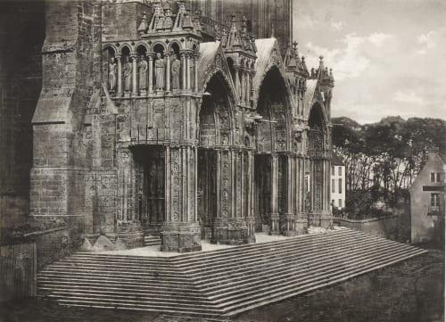 Cathédrale de Chartres. Portique du Midi Negre, Charles  (French, 1820-1880)