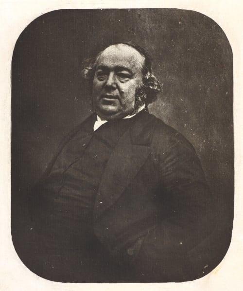 Portrait de Jules Janin Nadar  (French, 1820-1910)