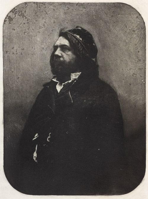 Portrait de Théophile Gautier Nadar  (French, 1820-1910)