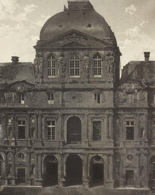 Le Louvre, Pavillon de l'Horloge Negre, Charles  (French, 1820-1880)