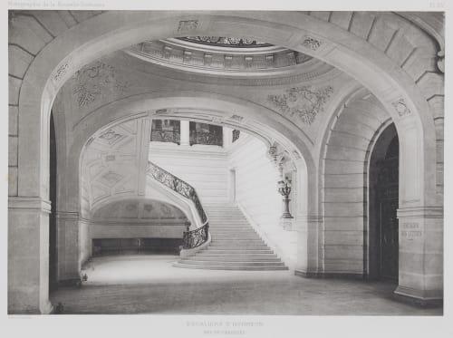 Escaliers D'Honneur (Rez-de-Chaussée) Nénot, Henri-Paul   (French, 1853-1934)