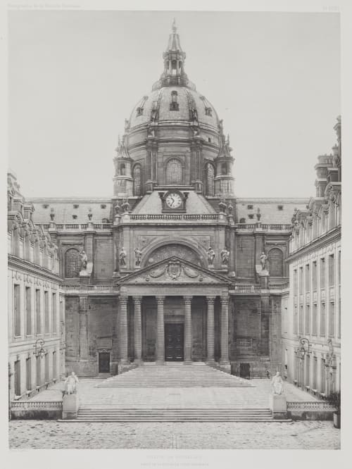 Eglise de Richelieu Nénot, Henri-Paul   (French, 1853-1934)