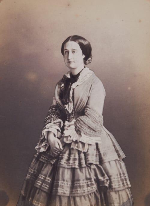 L'Impératrice Eugénie Mayer fréres  (French, 1841-1855)
